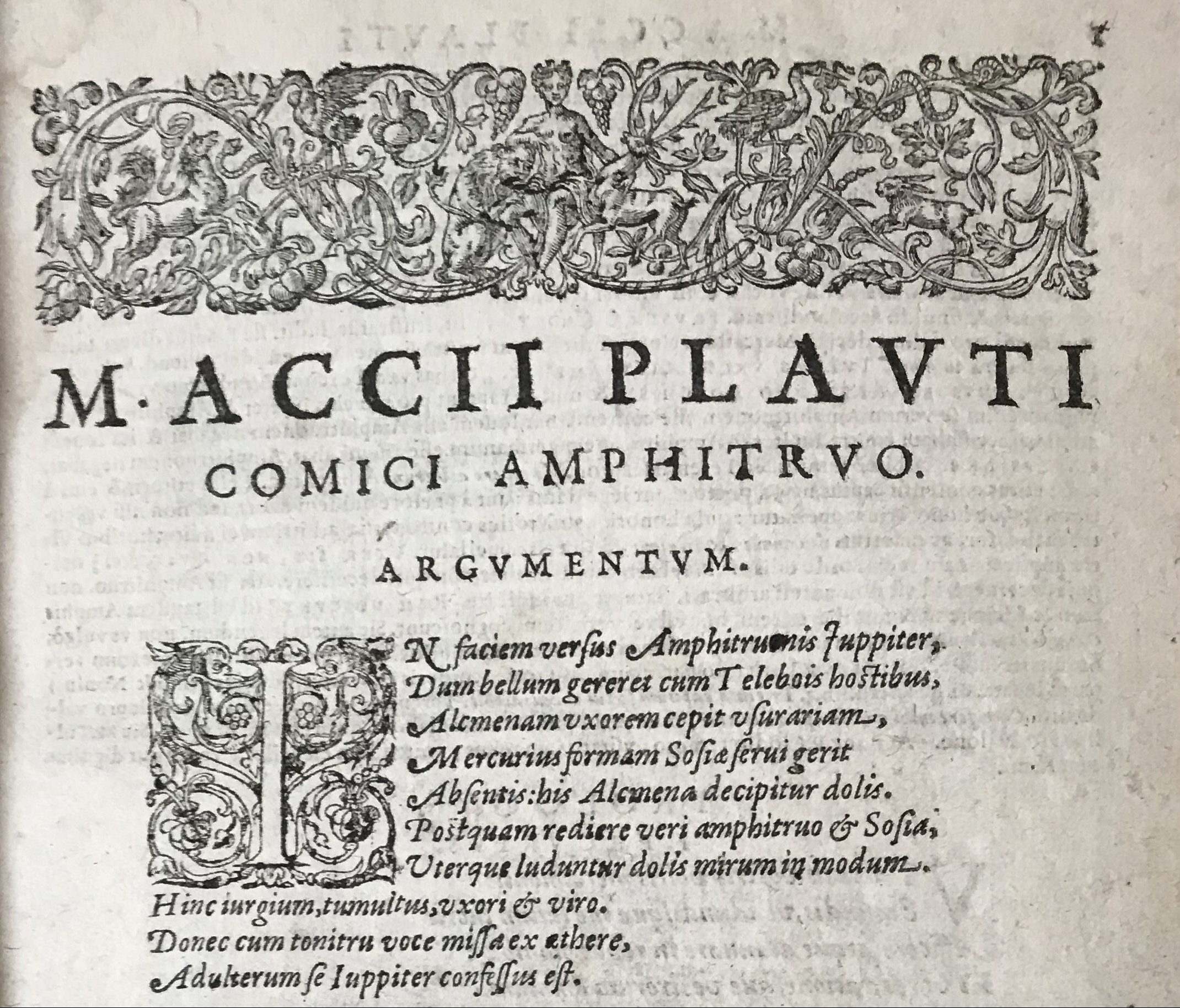 PLAUTUS (LAMBIN, Denis)