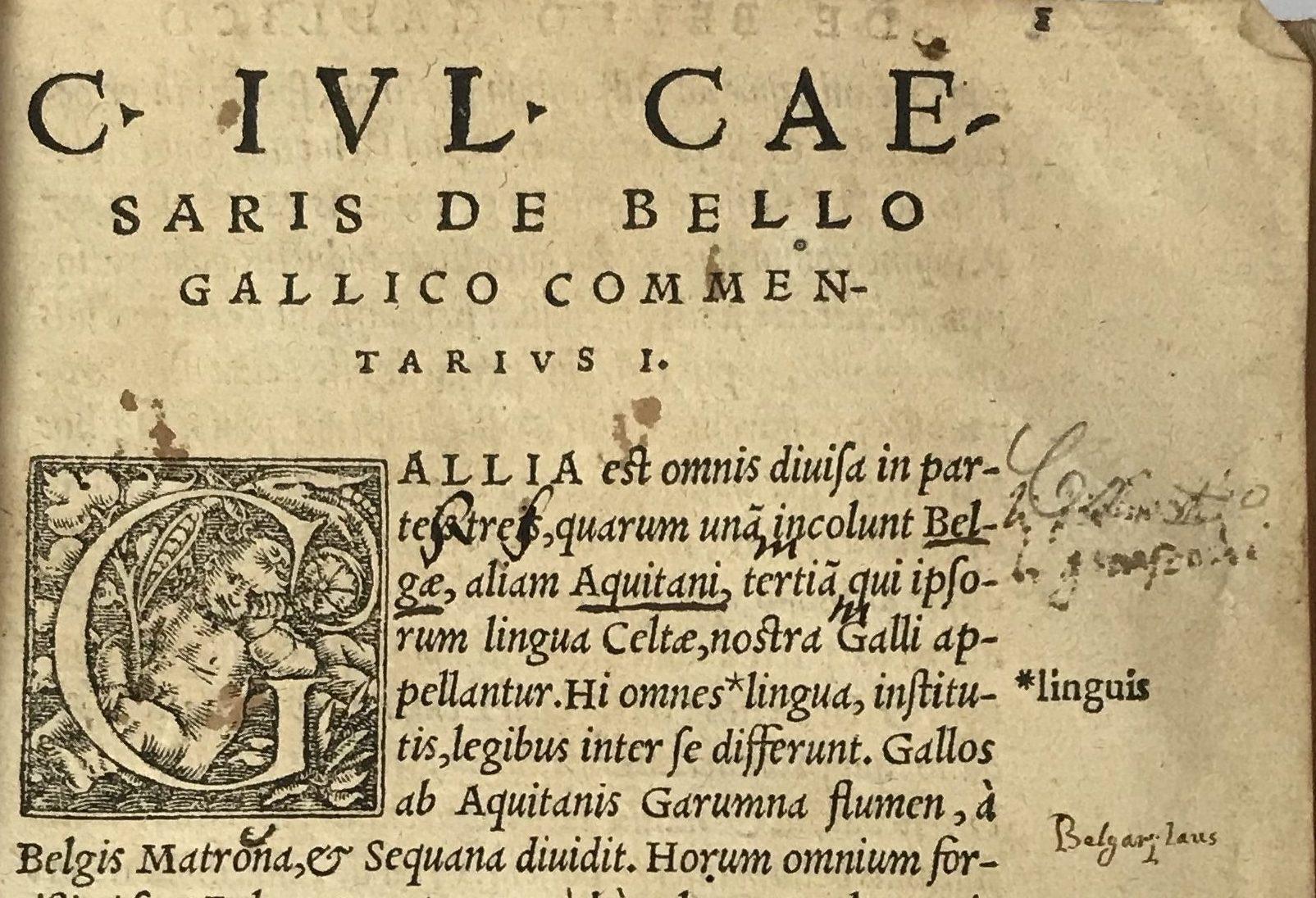 CAESAR, Caius Julius