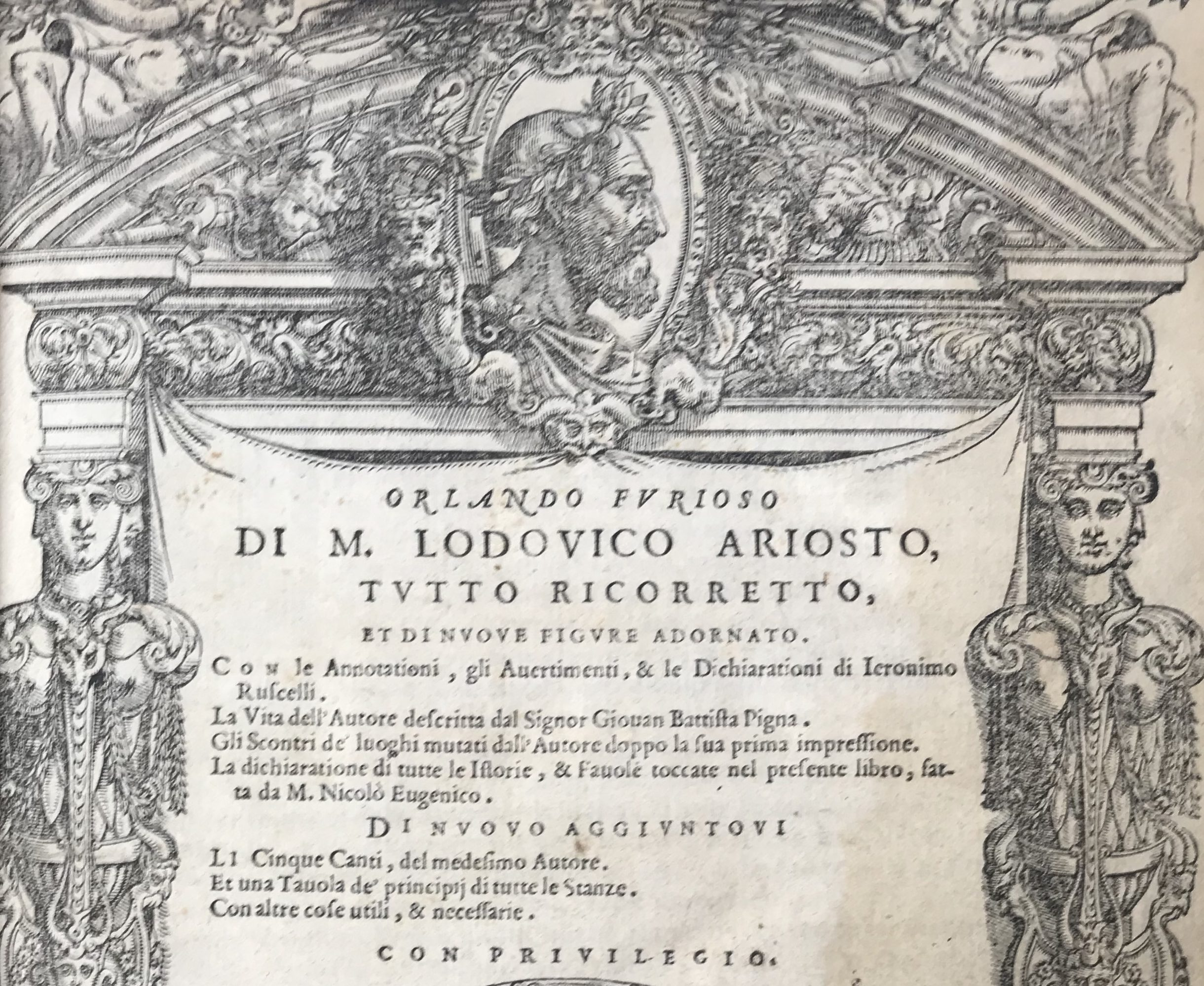ARIOSTO, Lodovico (RUSCELLI, Girolamo)