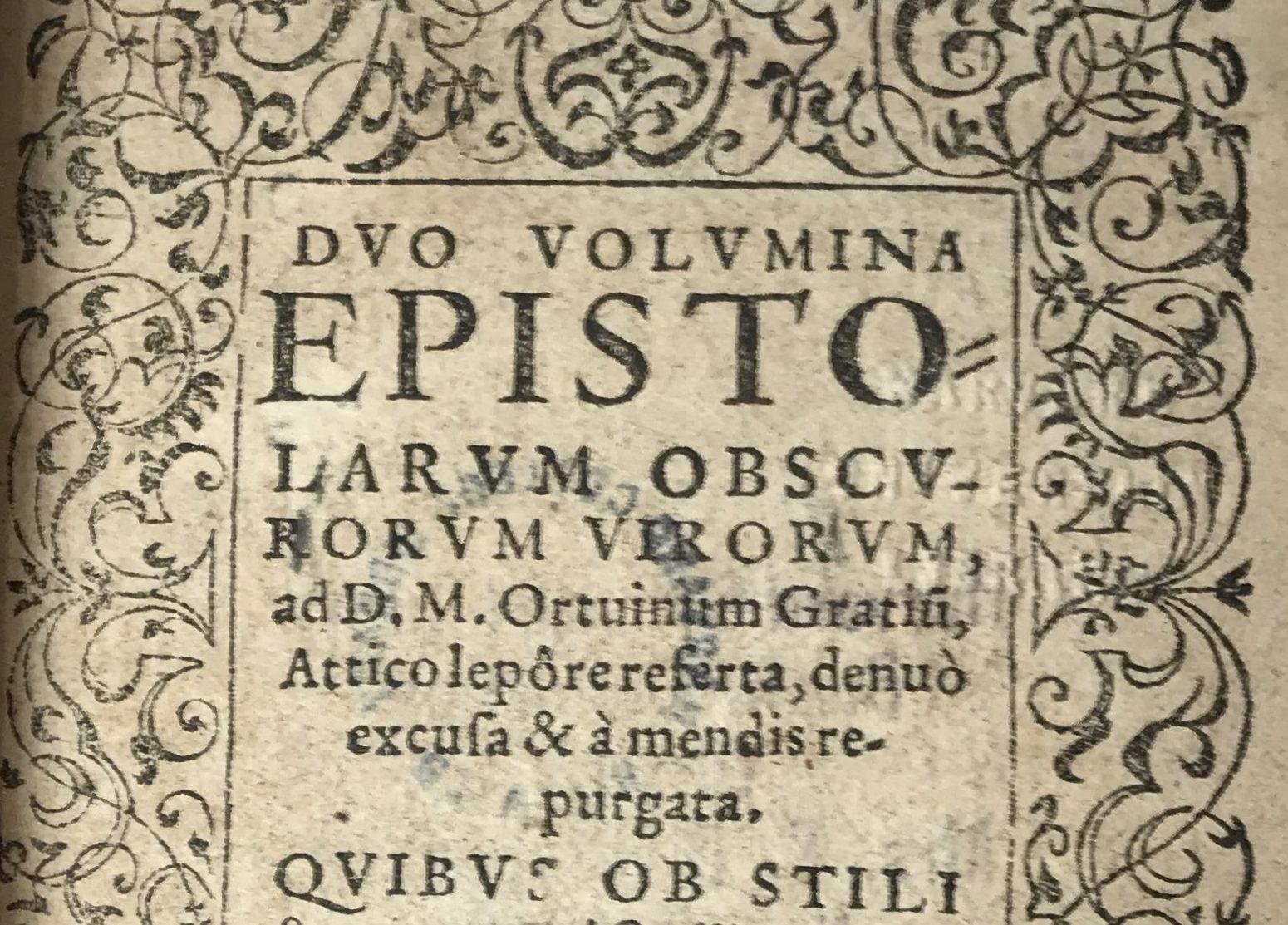 HUTTEN, Ulrich von, et al.