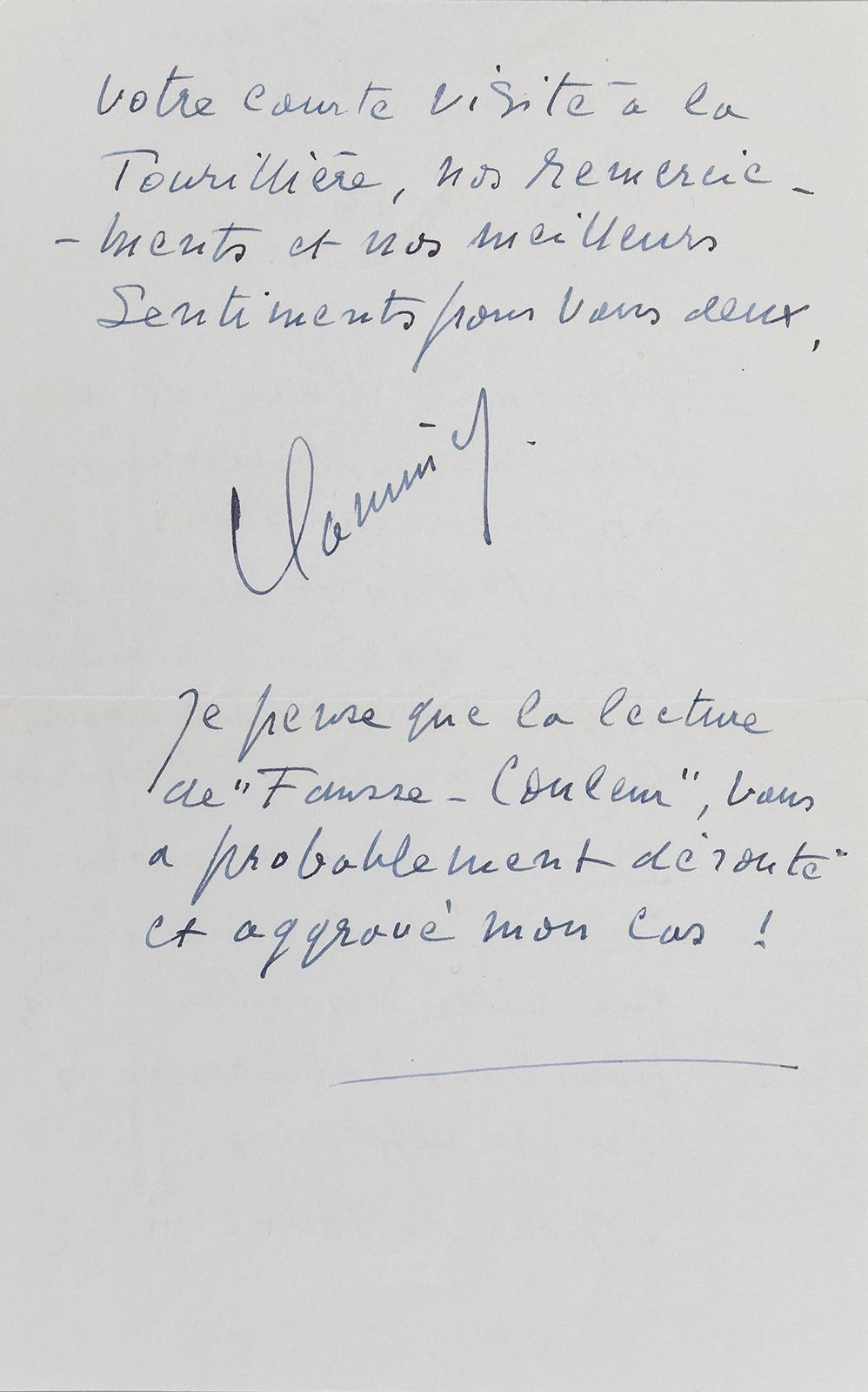 DE VLAMINCK, Maurice