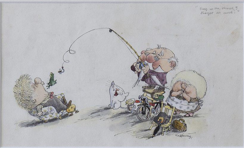 HOFFNUNG, Gerard (Drawing)