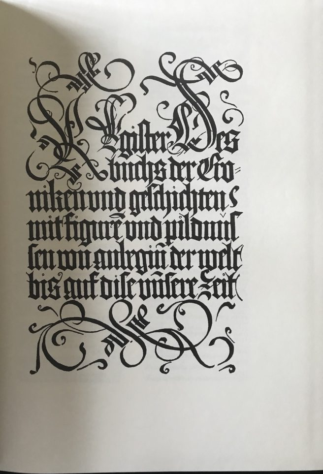 SCHEDEL, Hartmann (Fac-simile)