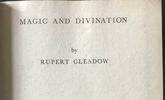 GLEADOW, Rupert