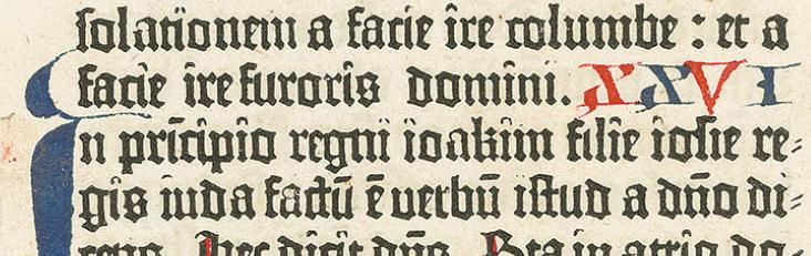 BIBLIA LATINA (GUTENBERG, Johann)