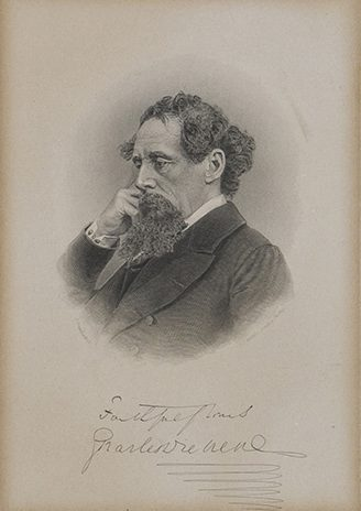 DICKENS, Charles (Autograph)