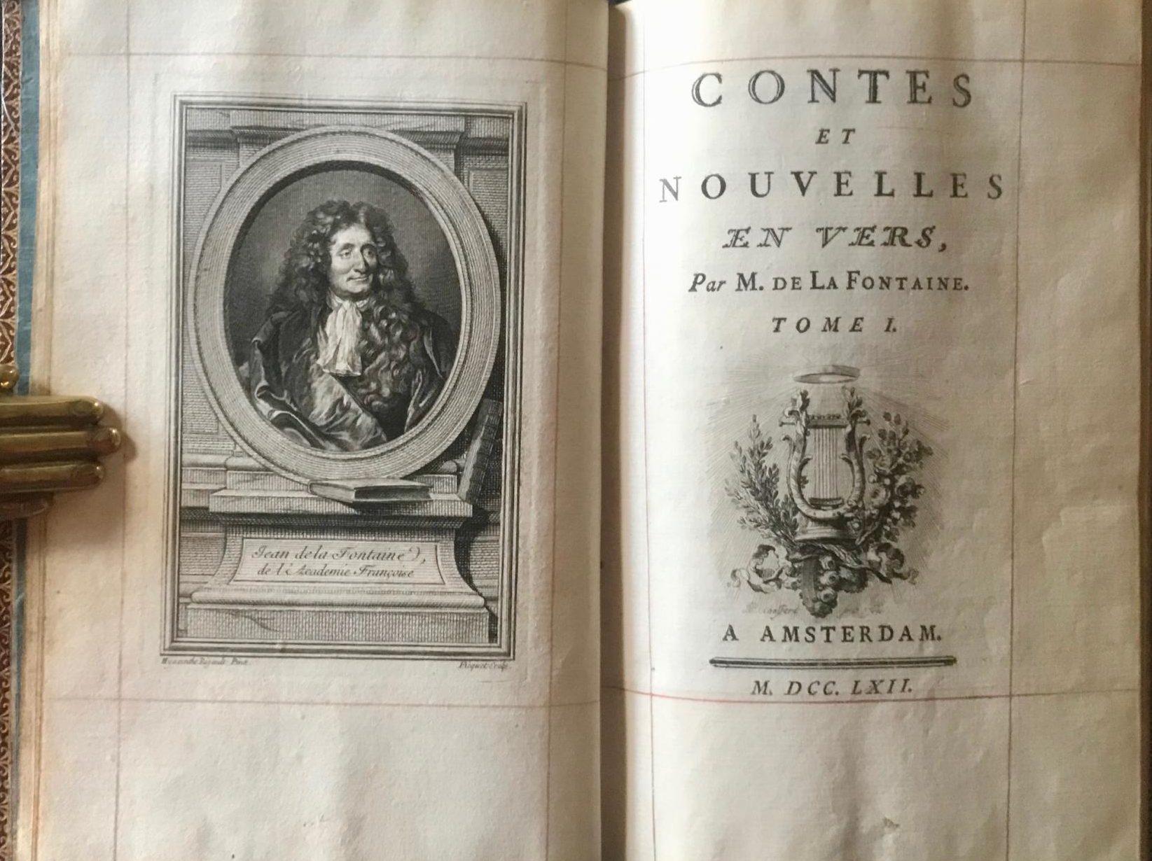 LA FONTAINE, Jean de