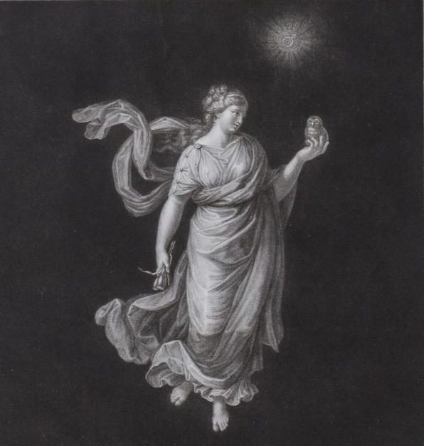 FOSSEYEUX, The Twelve Hours of the Day and Night, c. 1804