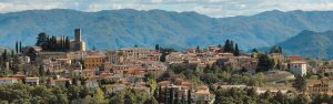The City of Barga, Italy