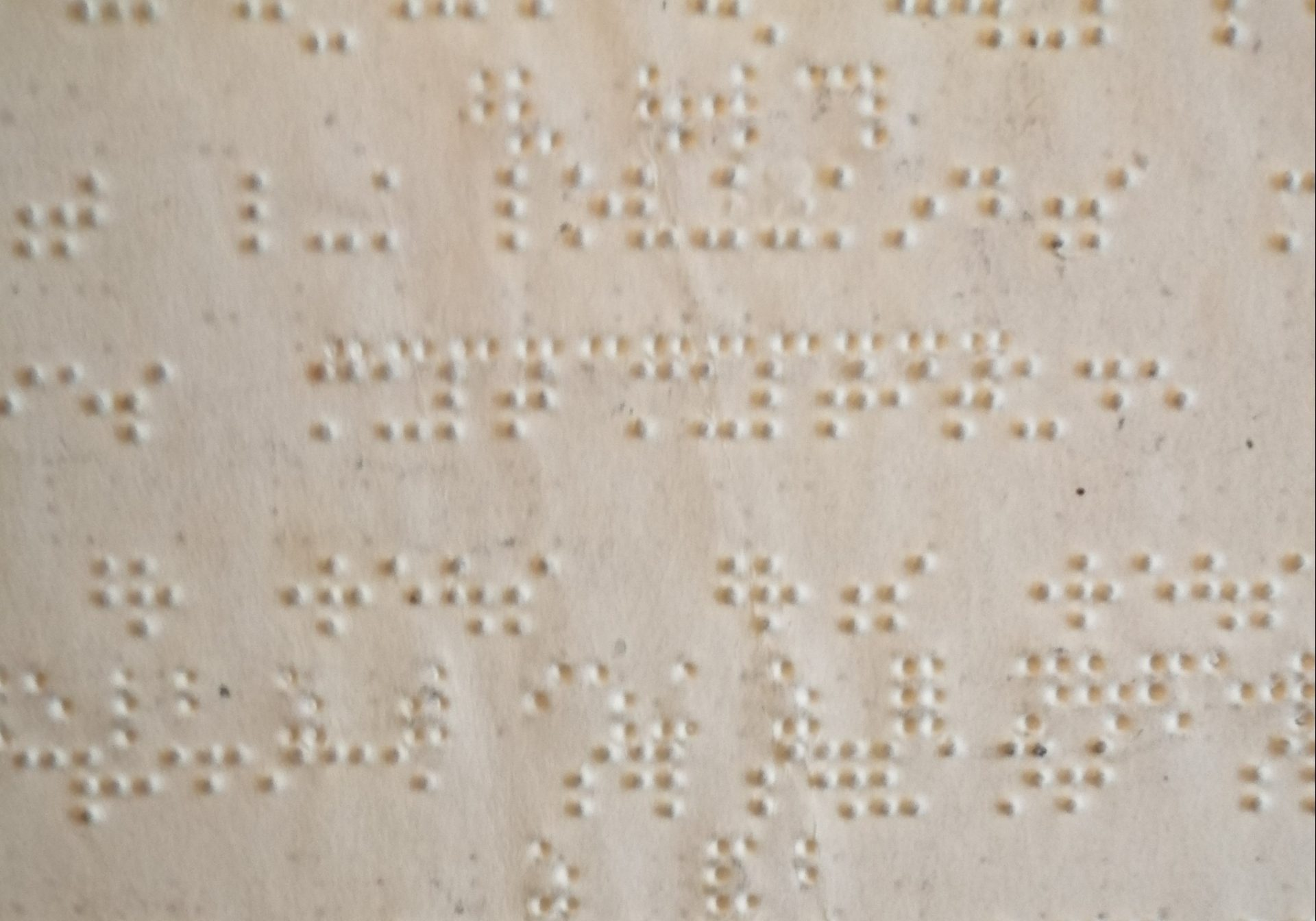 BOOK OF PSALMS IN BRAILLE (BIBLE SOCIETY)