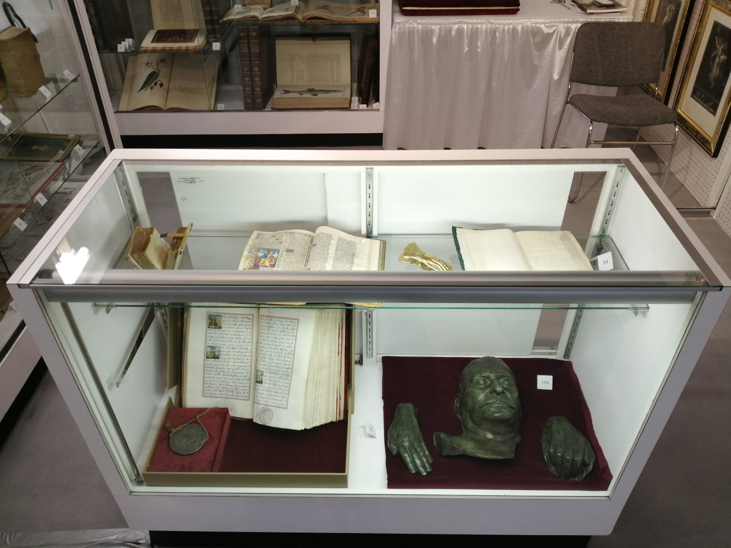 The Front Cabinet