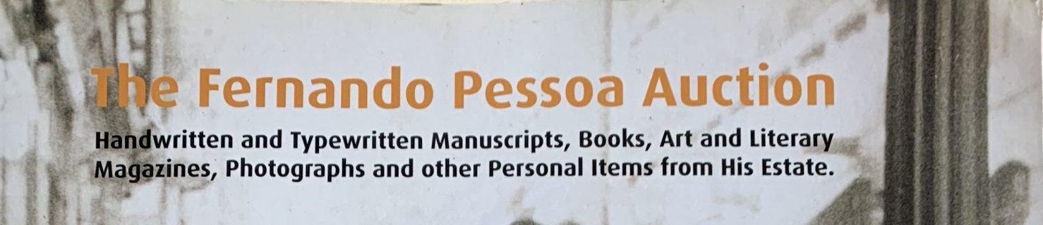 The Fernando Pessoa Auction