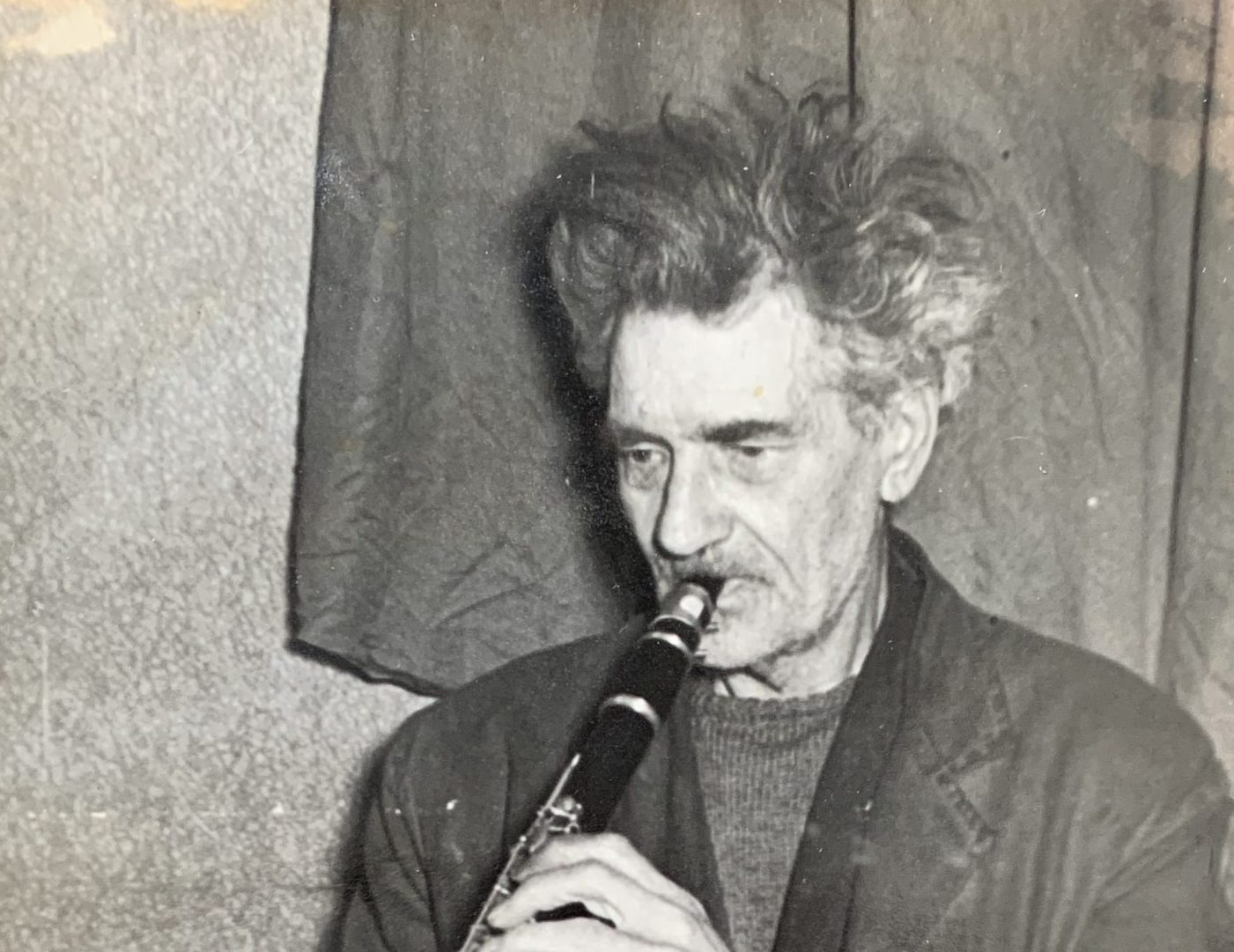PHOTOGRAPHIC PORTRAIT OF AUSTIN OSMAN SPARE