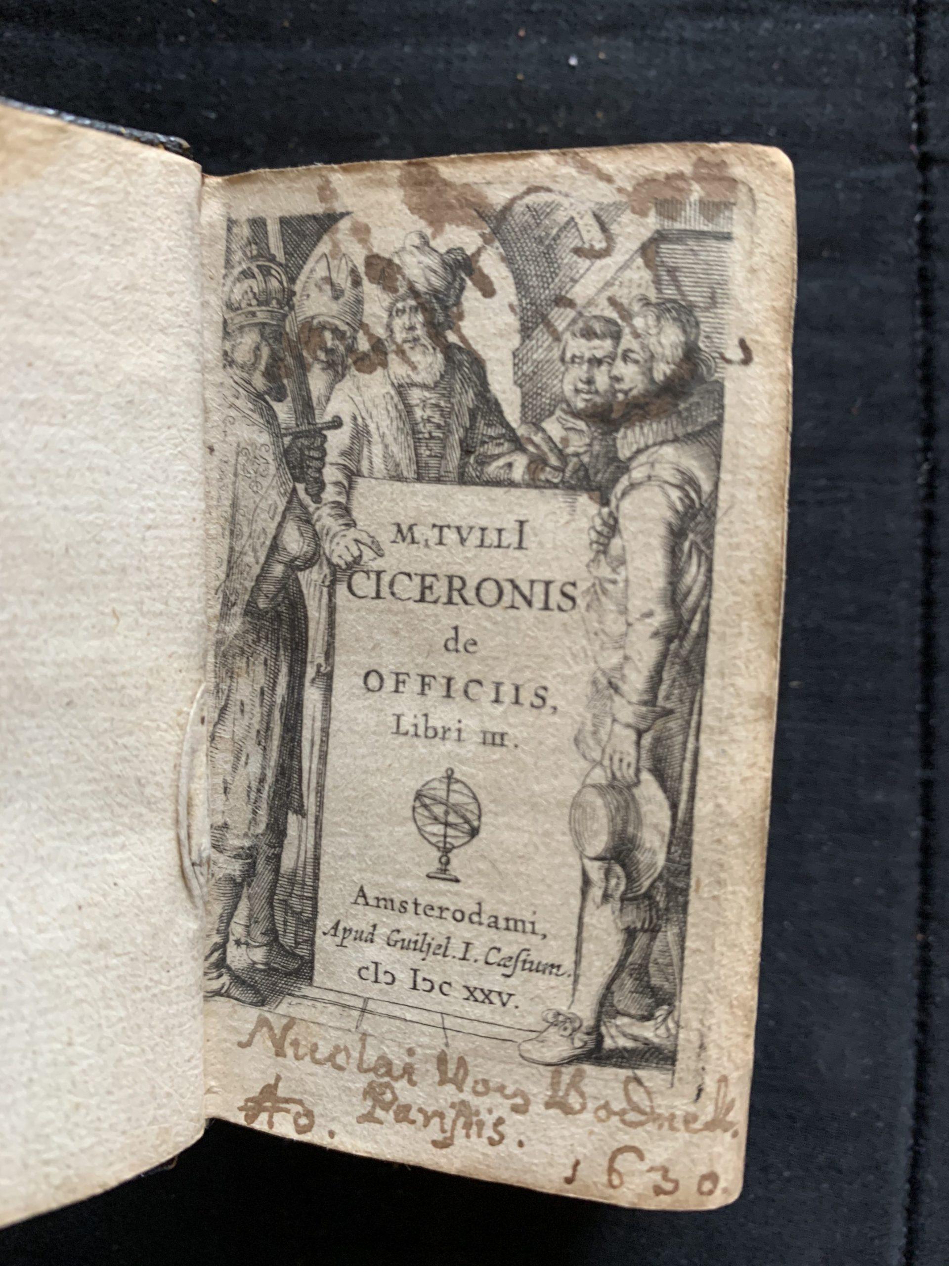 CICERO, Marcus Tullius; LIPSIUS, Justus