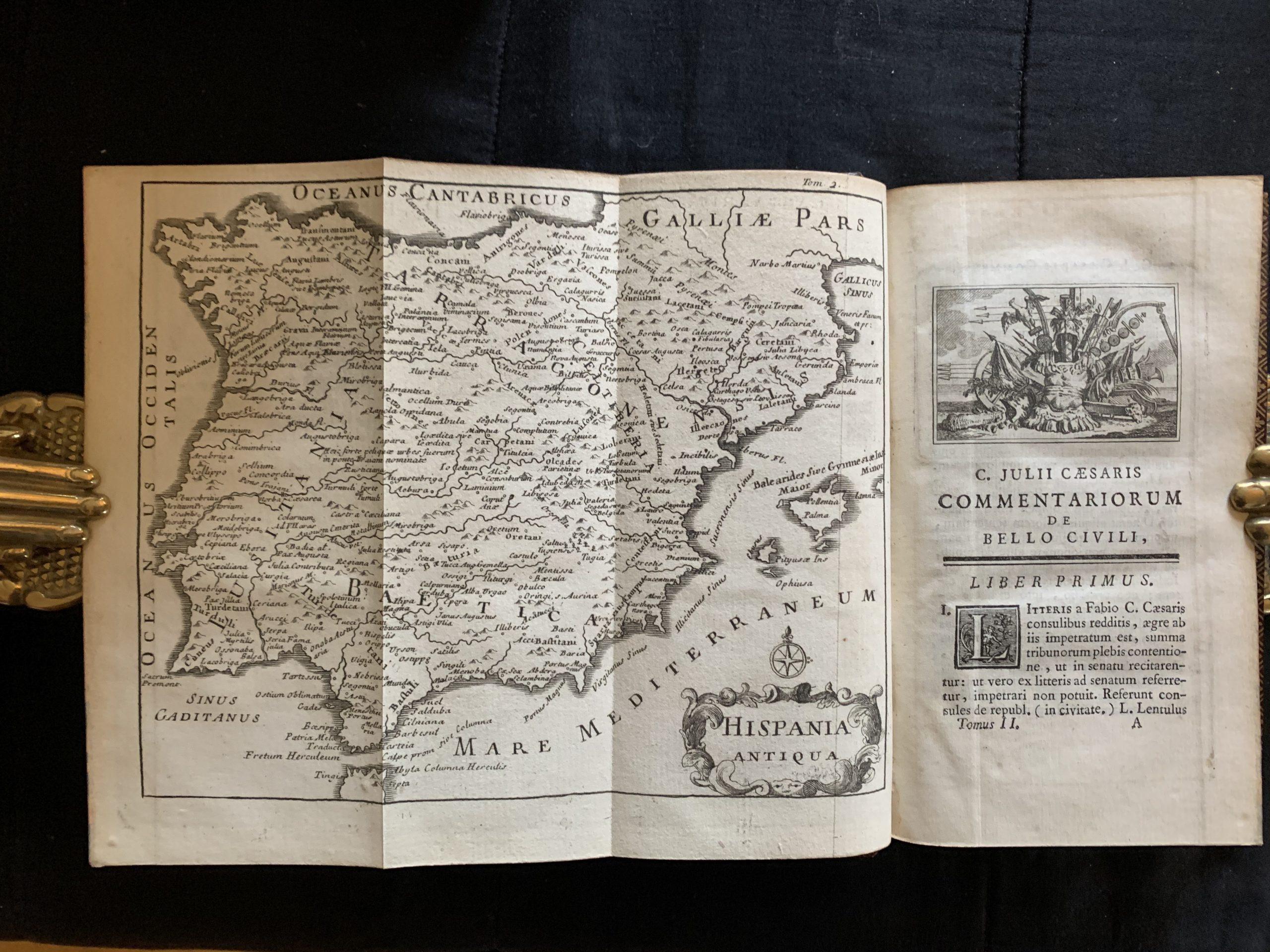 CAESAR, Caius Julius, HIRTIUS, Aulius; COUSTELLIER, A. U., (ed.).