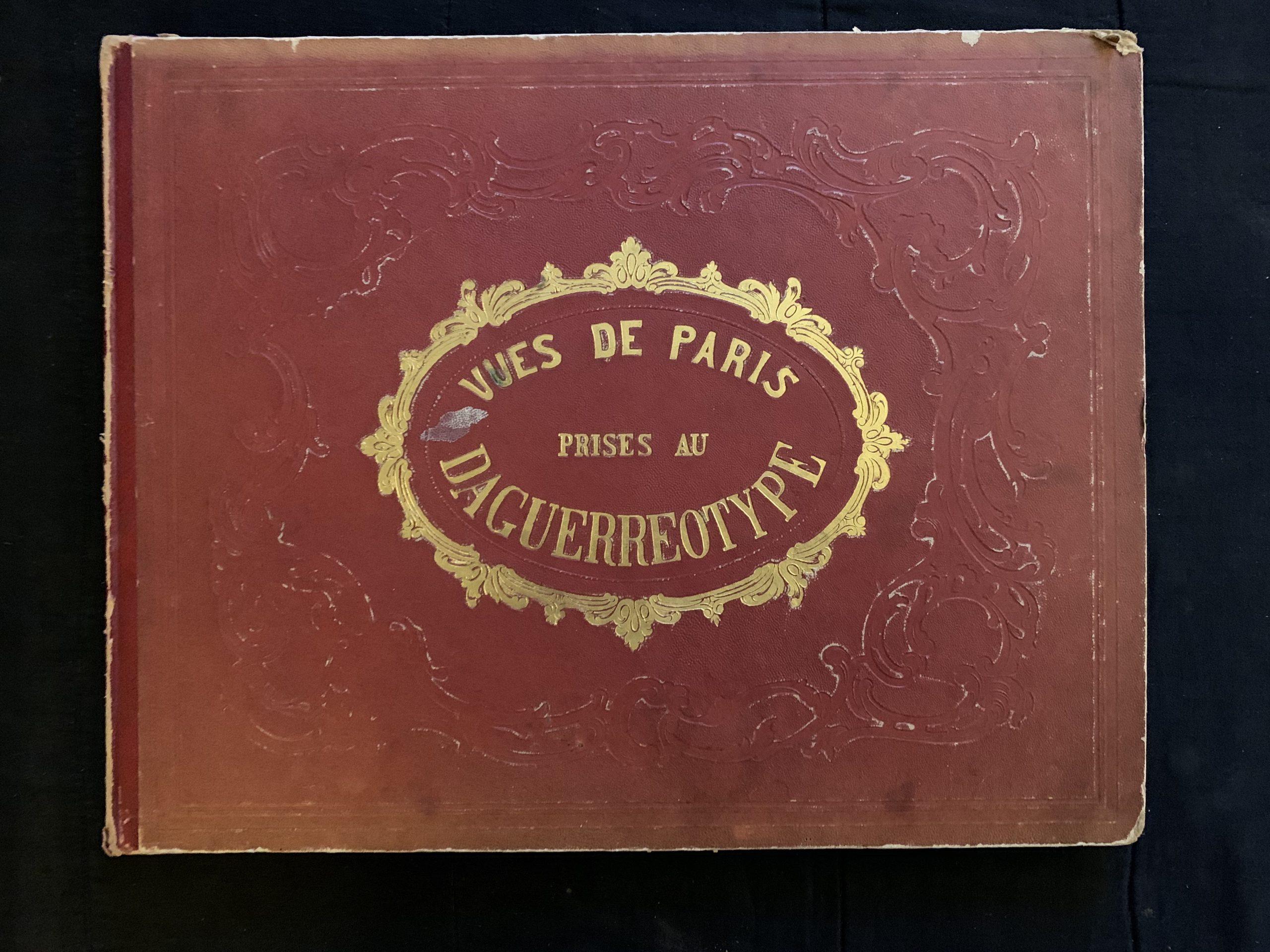 Collection de 28 vues de Paris