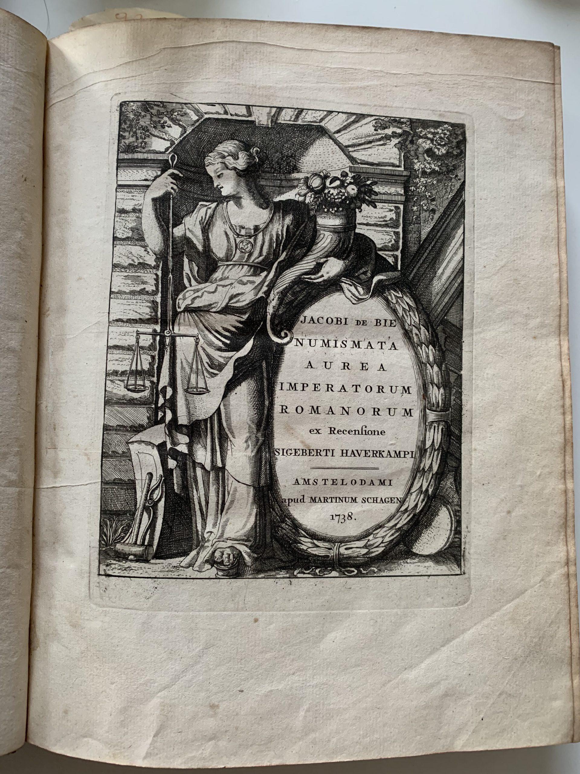 BIE, Jacobi de; SMIDS, Ludolphi; HAVERCAMPUS, Sigebertus