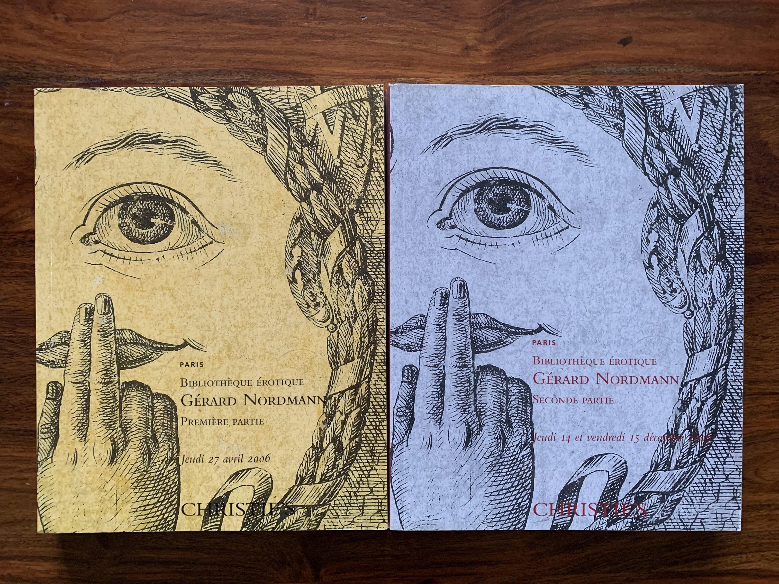 Christie's. Bibliotheque Erotique Gerard Nordmann