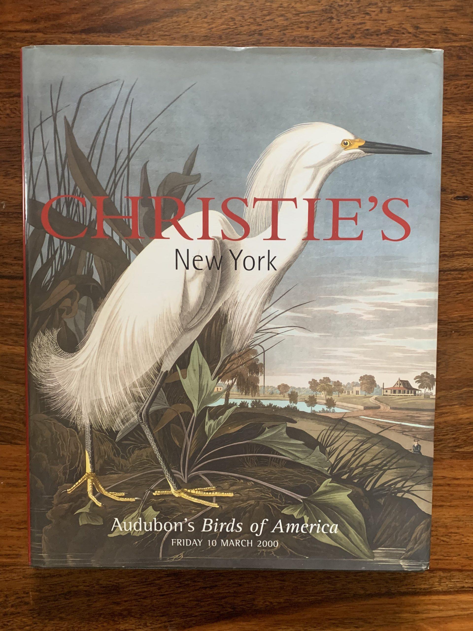 Christie's. John James Audubon, The Birds of America. The Lane Fox Set.