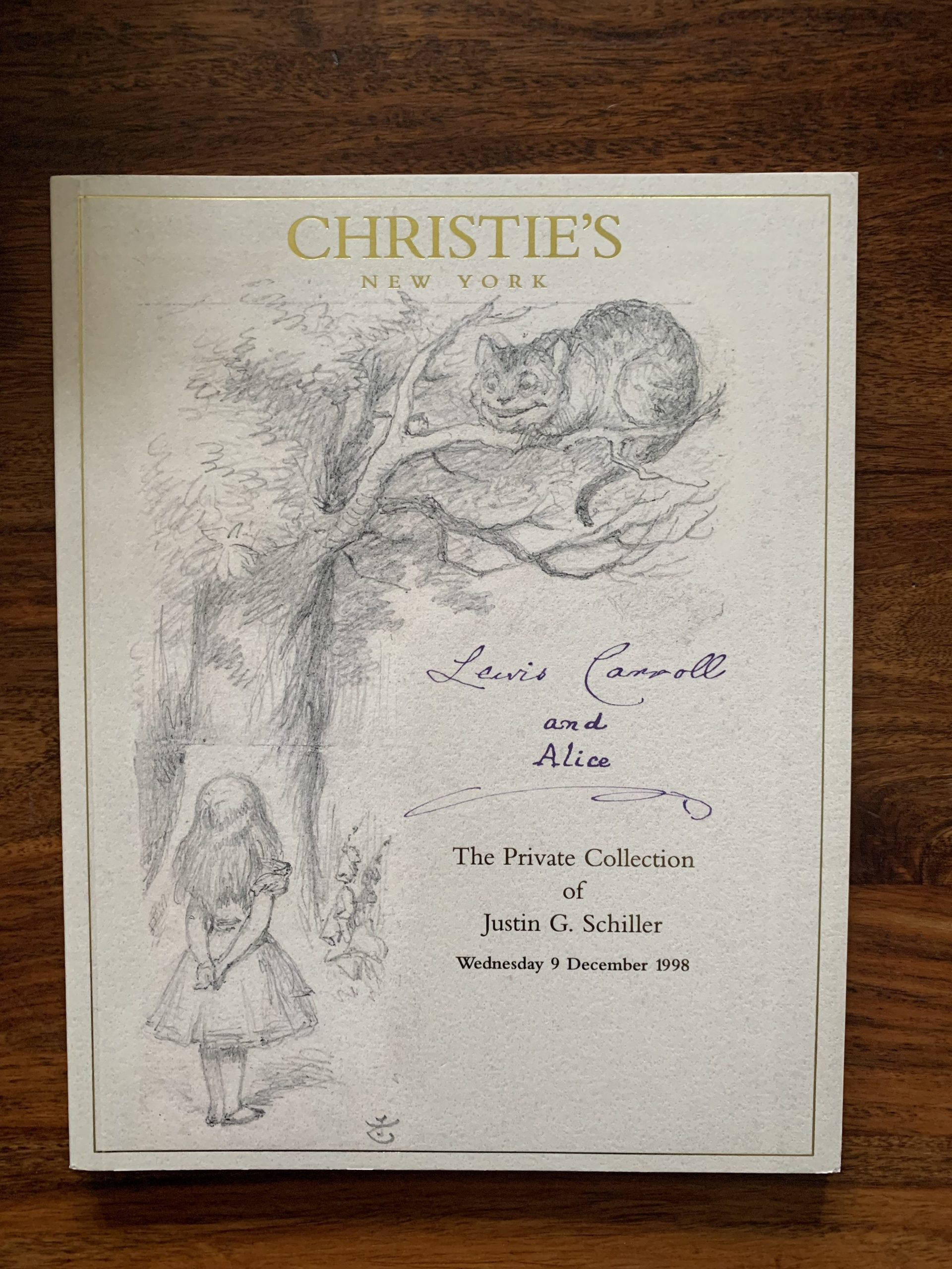 Christie's. Lewis Carroll and Alice