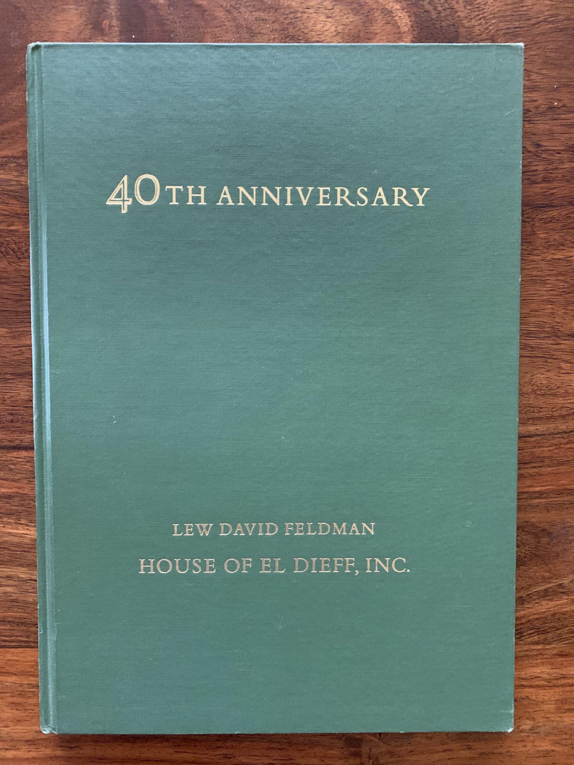 LEW DAVID FELDMAN; HOUSE OF EL DIEFF, INC