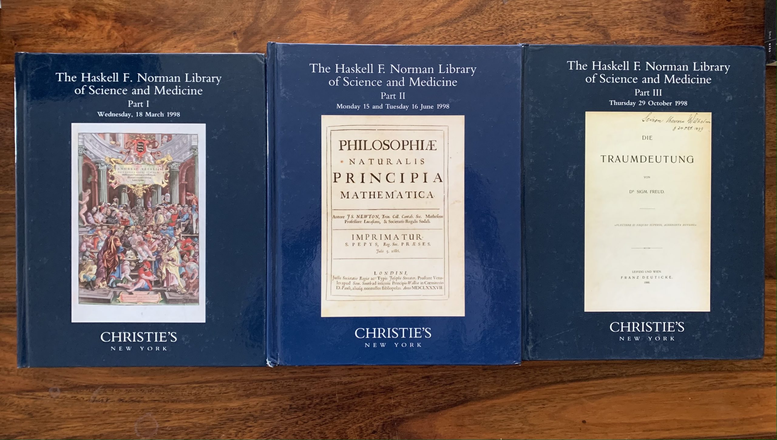 Christie's. The Haskell F. Norman Library of Science and Medicine