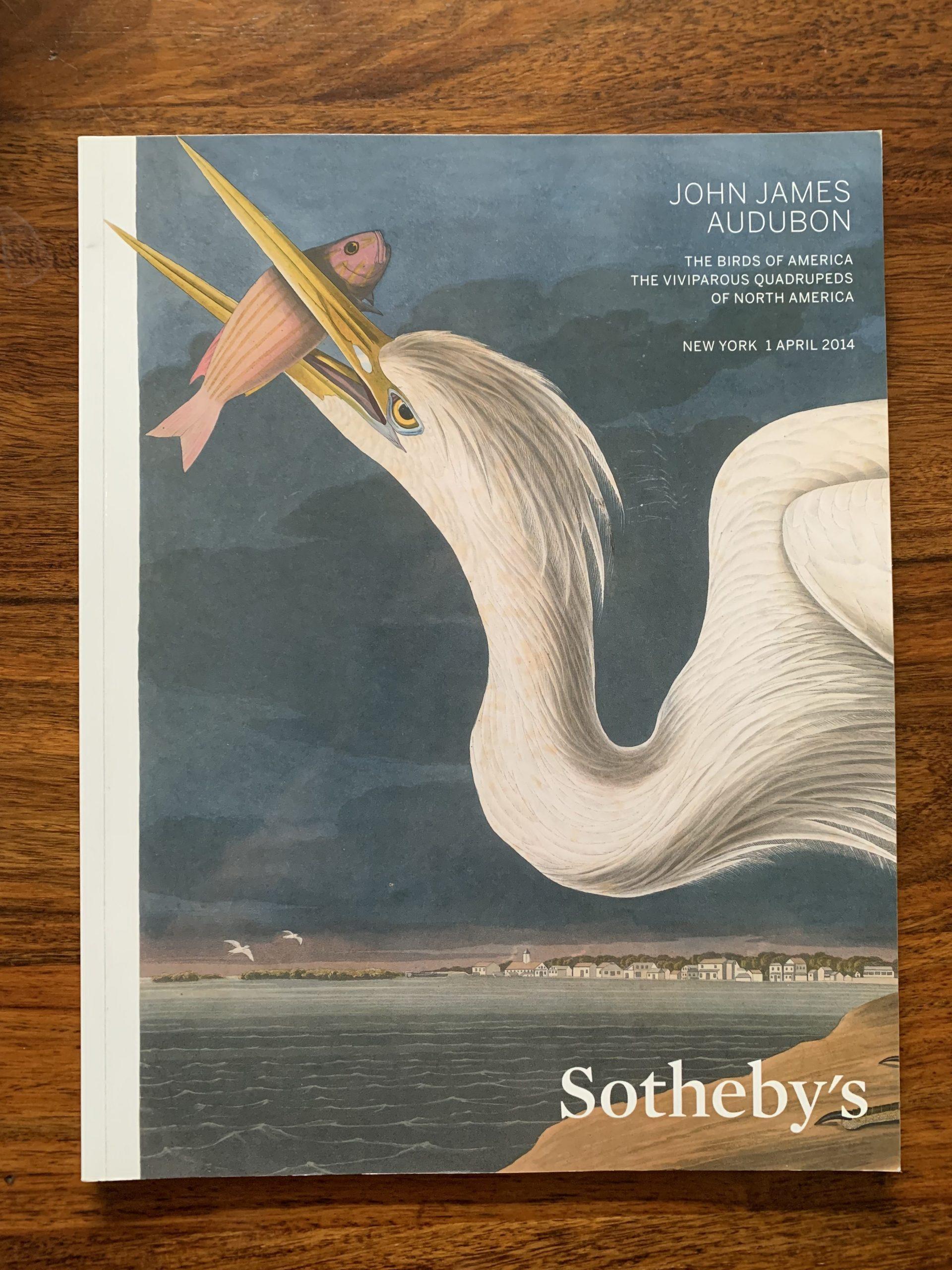 Sotheby's. John James Audubon: The Birds of America.