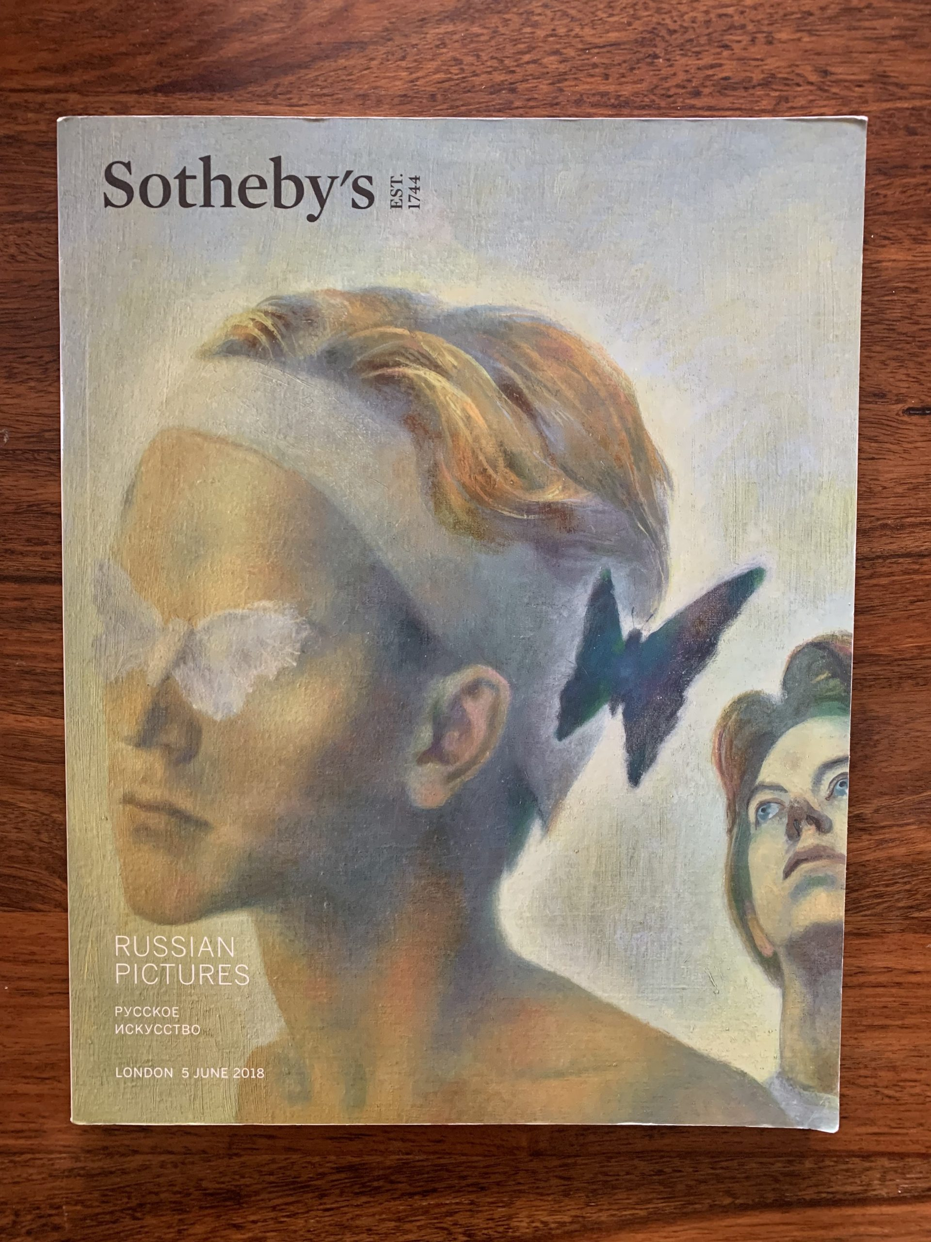 Sotheby's. Russian Pictures: Pycckoe Nckycctbo
